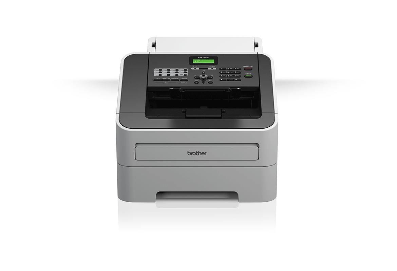 Факс устройство Brother на бял фон