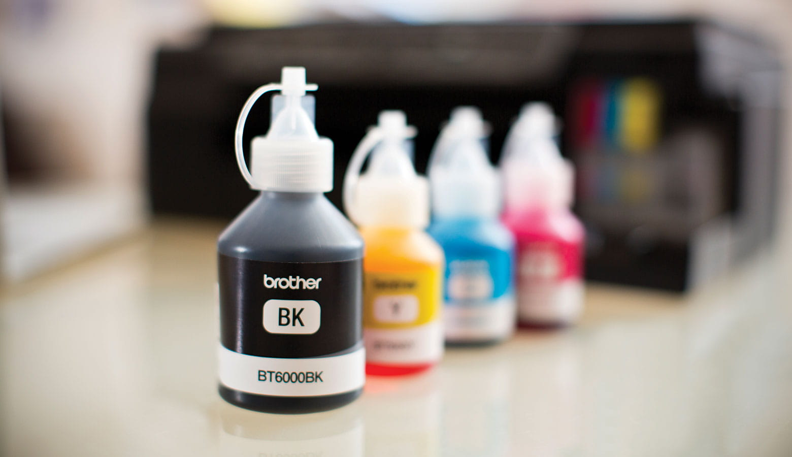bespoke brother supplies ink CMYK