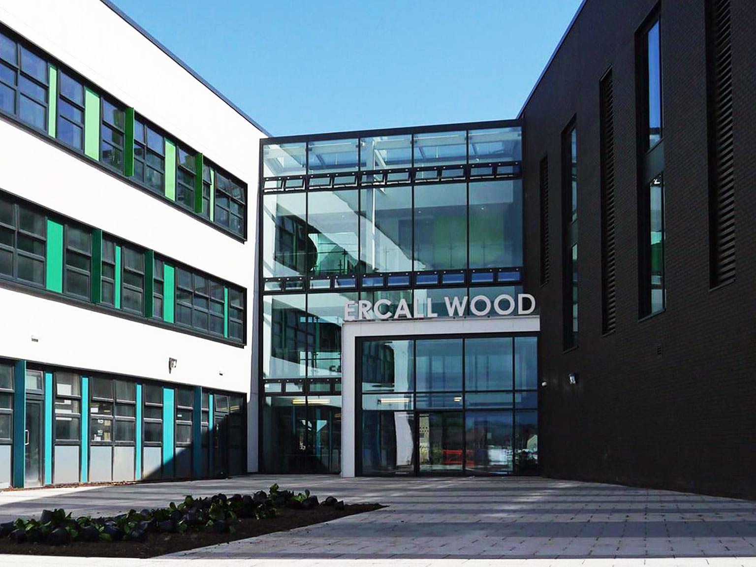 Реализирано решение в ercall wood technology college
