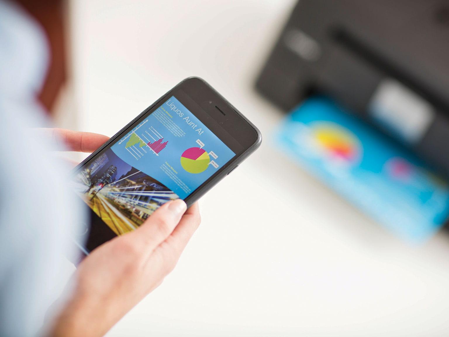 Приложение за мобилен печат Brother iPrint&Scan