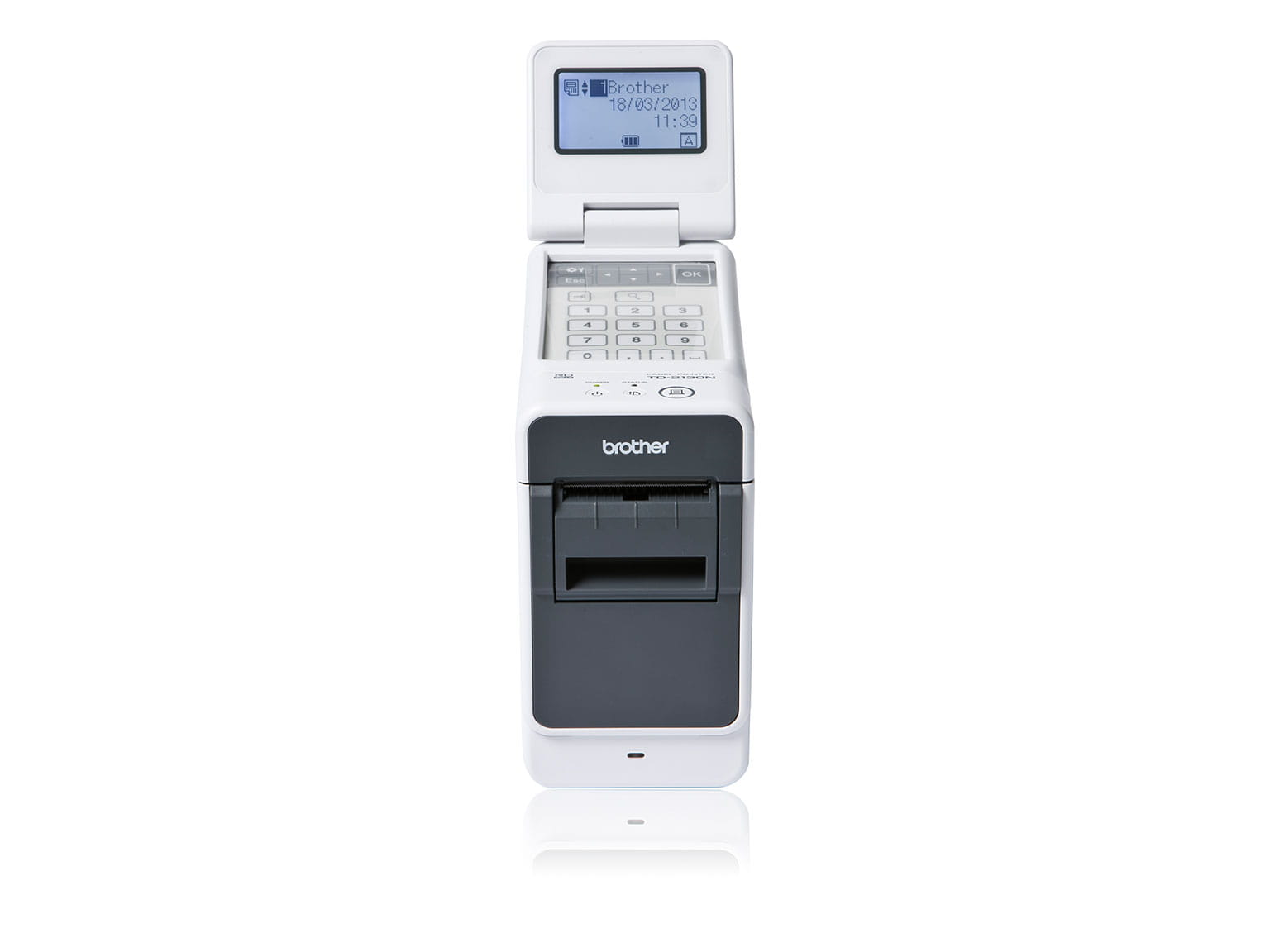 Brother преносим етикетен принтер TD-3120