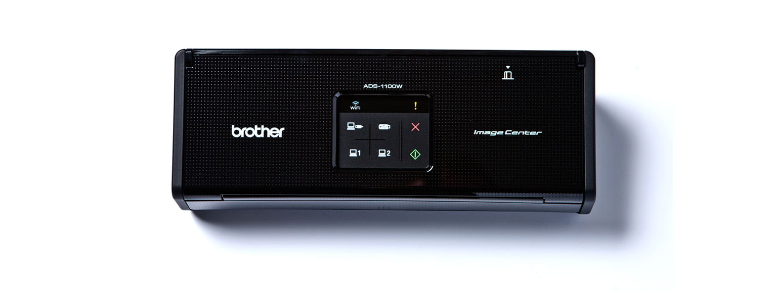 Компактен документен скенер Brother ADS-1100W