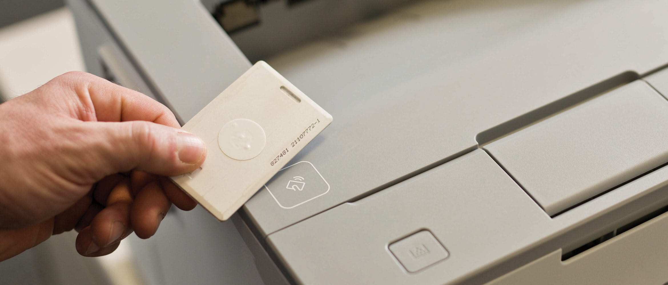 Man scans security chip on Brother printer to utilise
