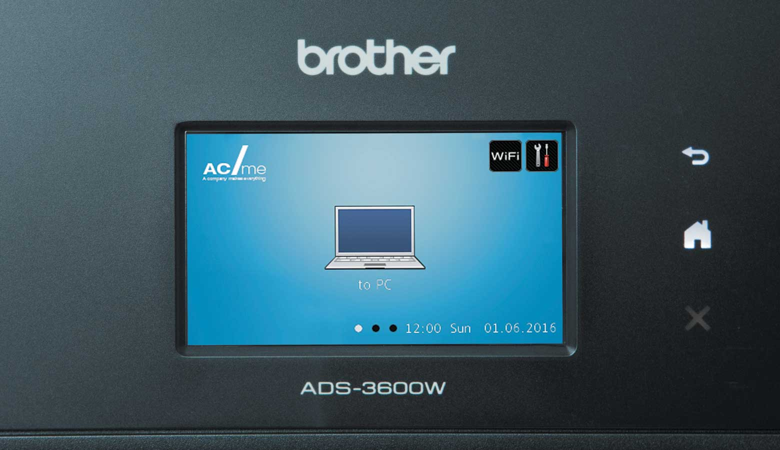 Персонализиран бутон на дисплея на устройството