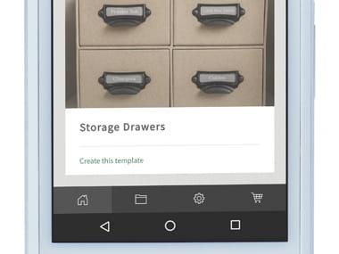 Design&Print приложение на смартфон с опции за печат
