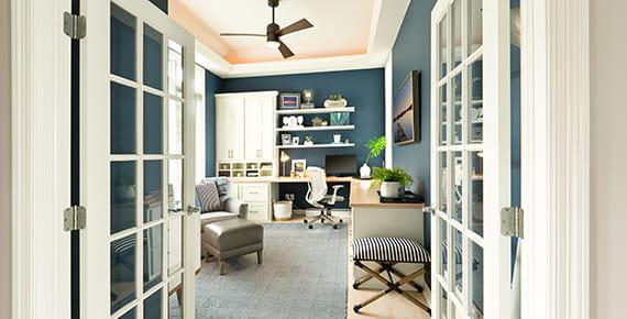 снимка на домашен офис