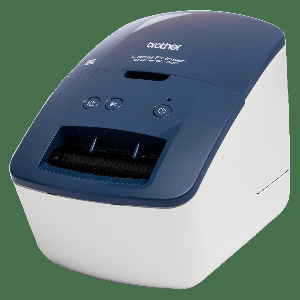 QL-600B Настолен етикетен принтер 2