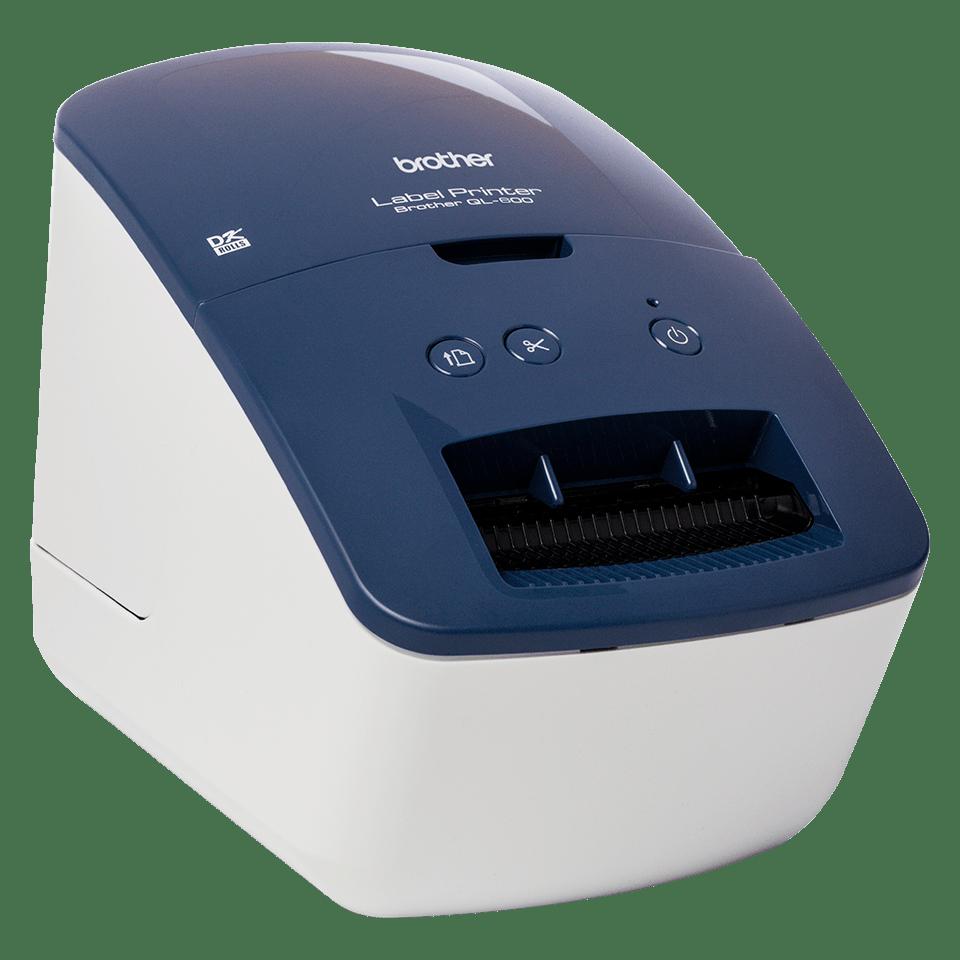 QL-600B Настолен етикетен принтер 3