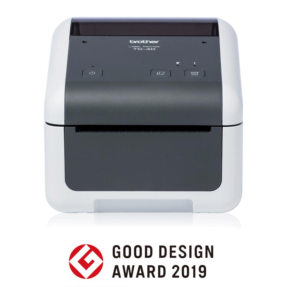 Настолен етикетен принтер Brother TD-4410D