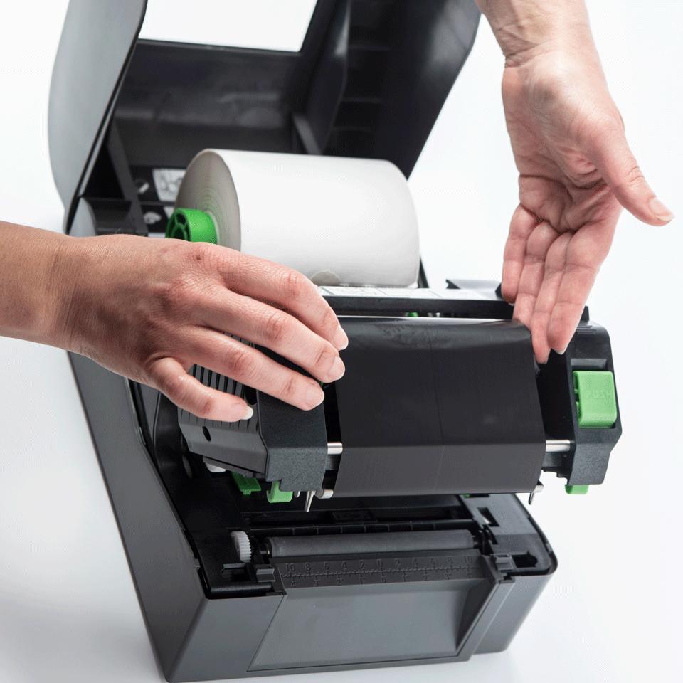 TD-4420TN термо-трансферен настолен етикетен принтер 5