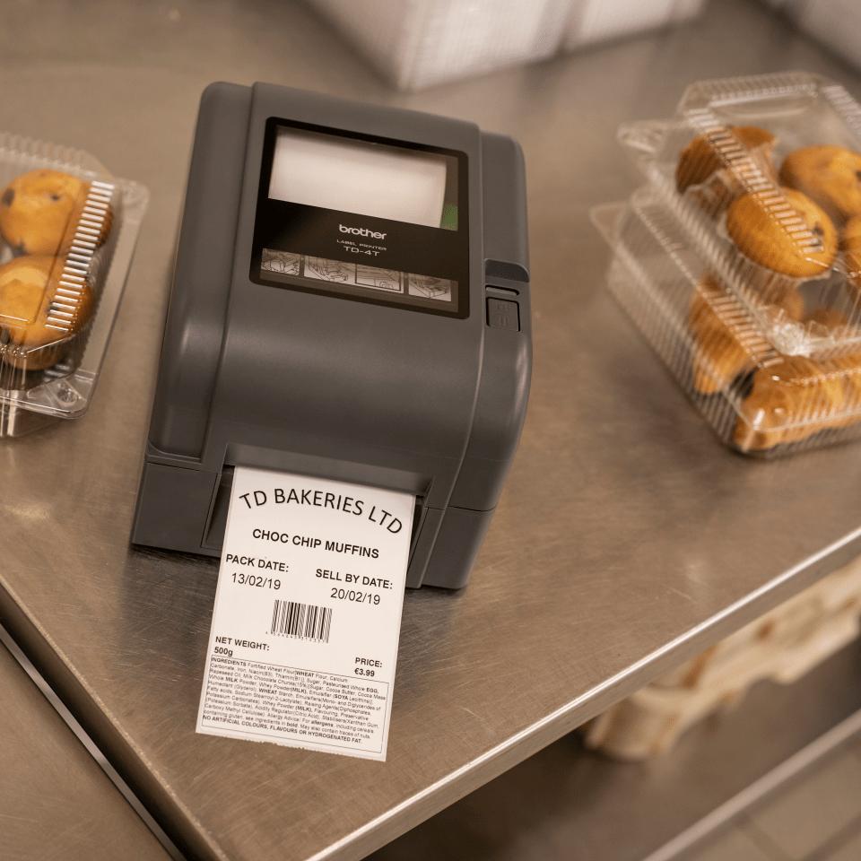 TD-4420TN термо-трансферен настолен етикетен принтер 8
