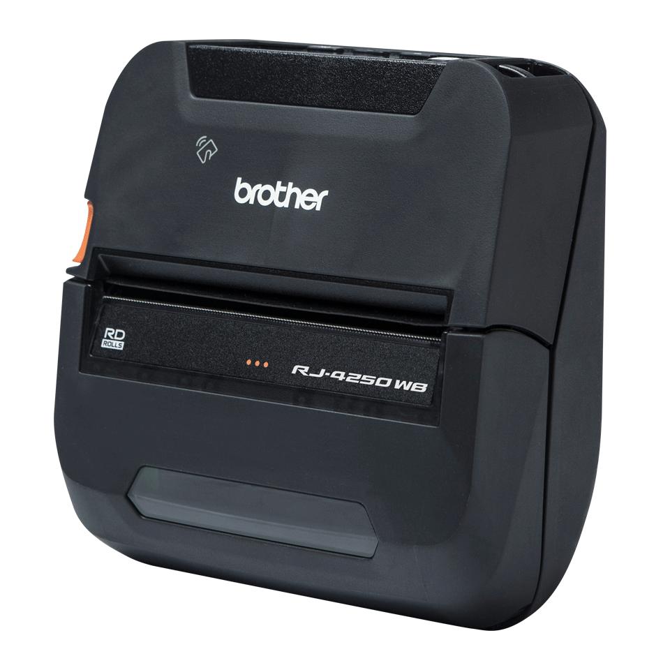 RJ-4250WB - Издръжлив мобилен принтер 2