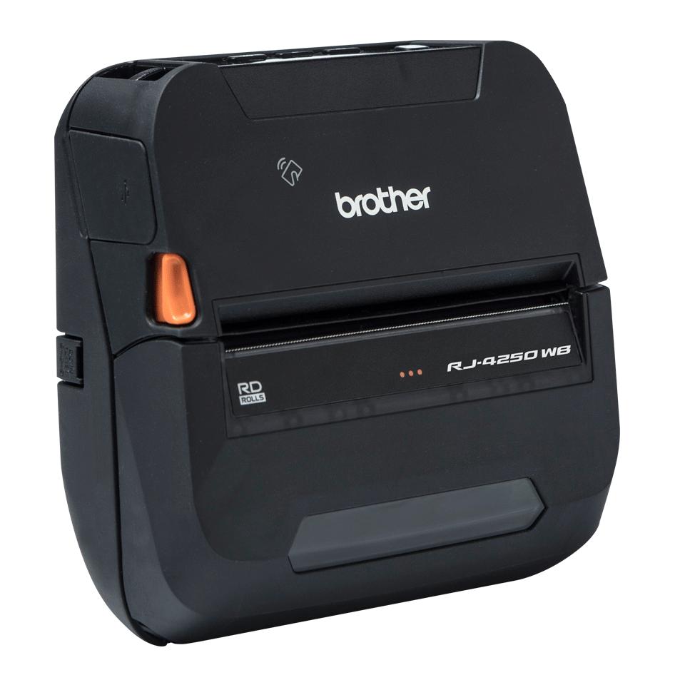 RJ-4250WB - Издръжлив мобилен принтер 3
