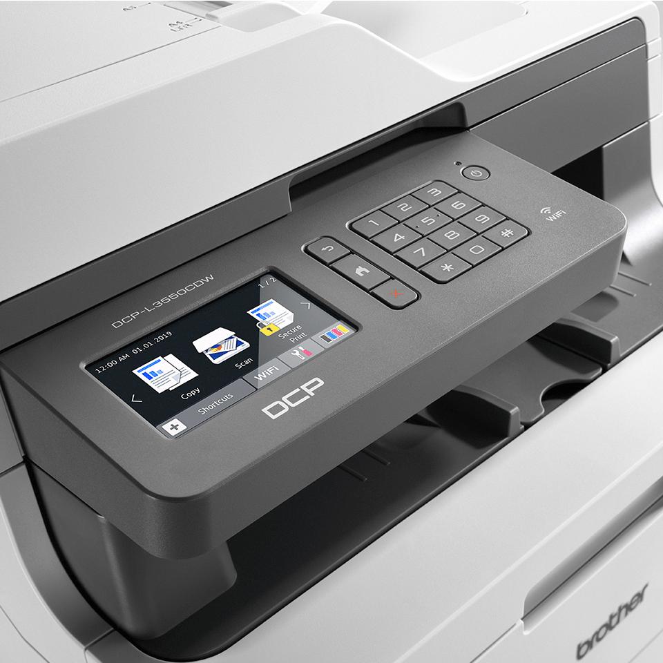 DCP-L3550CDW - цветно безжично LED мултифункционално устройство 4