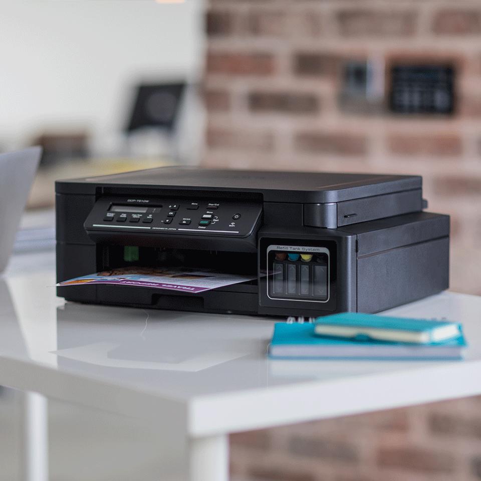 DCP-T510W - печат, копиране сканиране, безжична мрежа и ниска цена на печат.  4