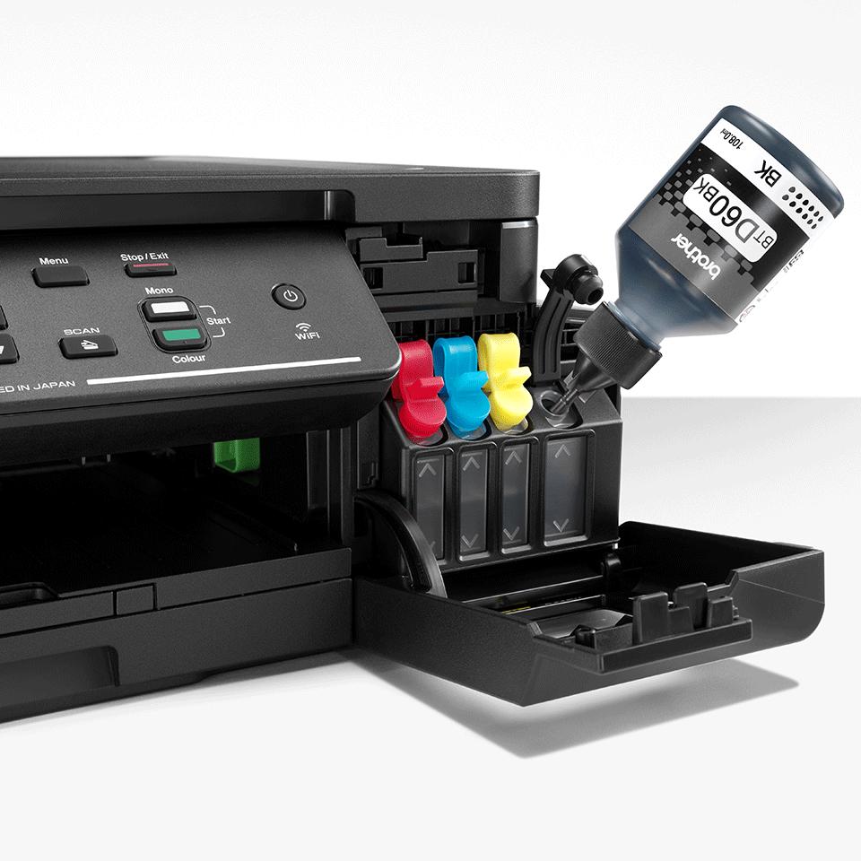 DCP-T510W - печат, копиране сканиране, безжична мрежа и ниска цена на печат.  5