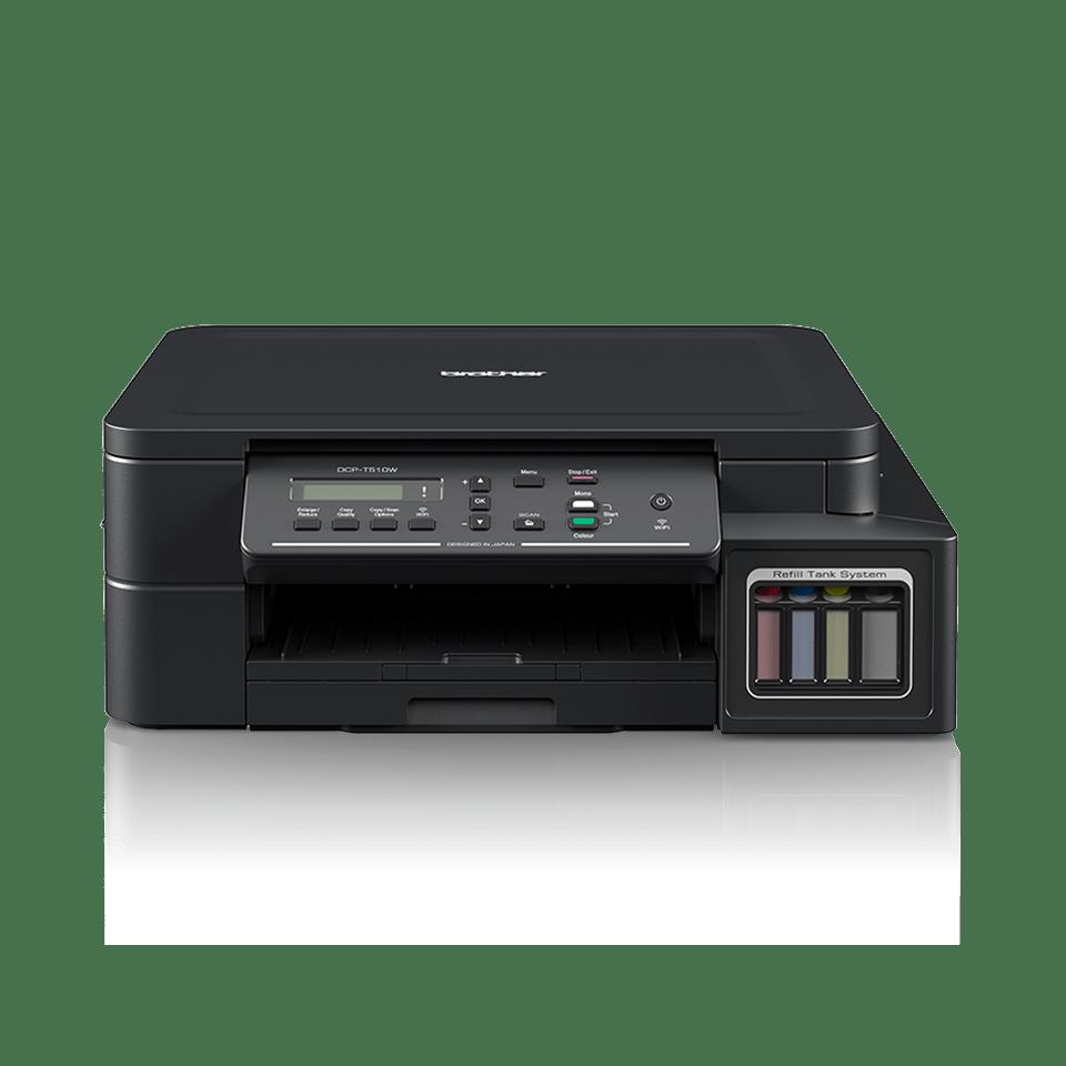 DCP-T510W - печат, копиране сканиране, безжична мрежа и ниска цена на печат.  7