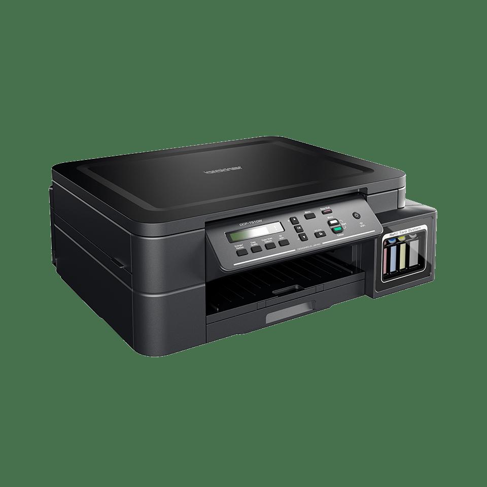 DCP-T510W - печат, копиране сканиране, безжична мрежа и ниска цена на печат.  2
