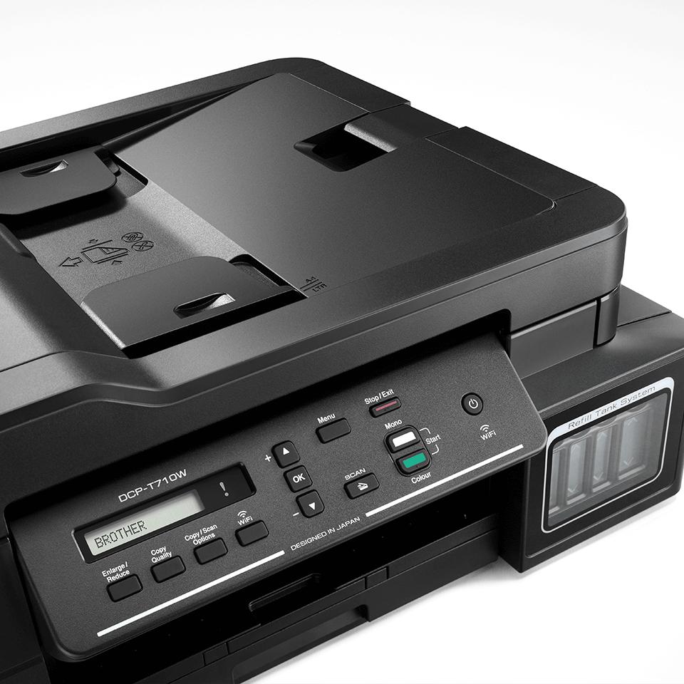 DCP-T710W - Компактно мастиленоструйно мултифункционално устройство с безжична мрежа и ADF 4