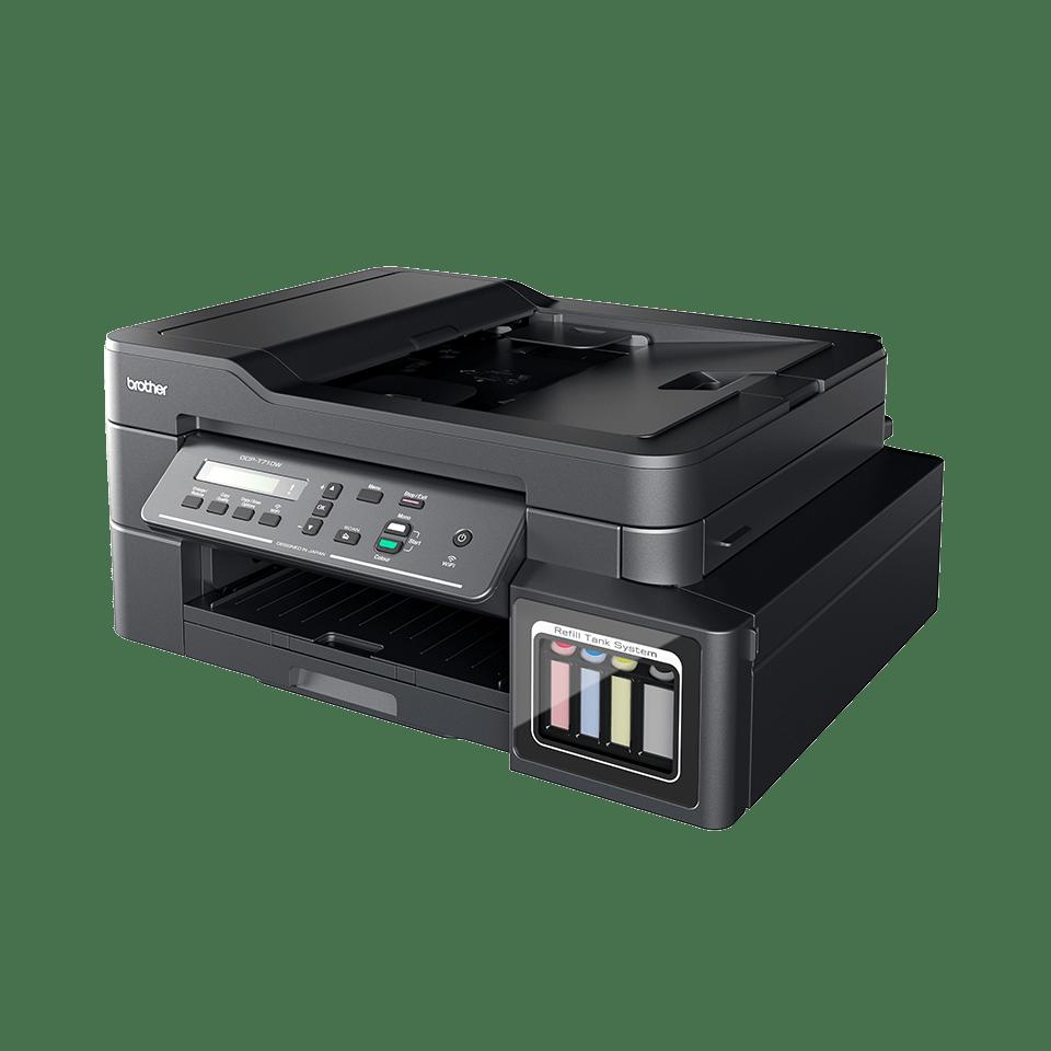 DCP-T710W - Компактно мастиленоструйно мултифункционално устройство с безжична мрежа и ADF