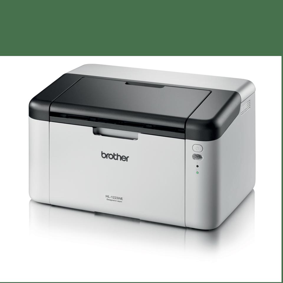 HL-1223WE - компактен и изключително икономичен лазерен принтер