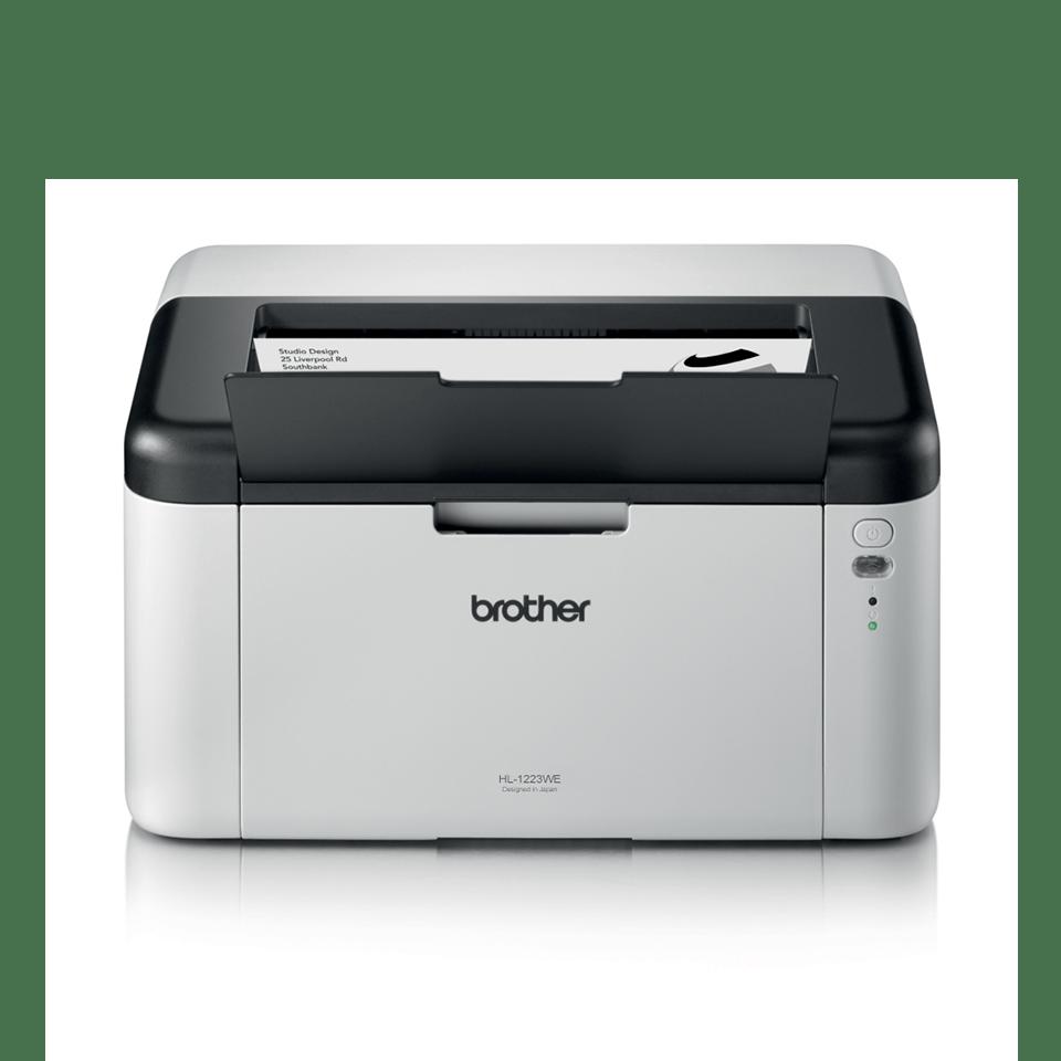 HL-1223WE - компактен и изключително икономичен лазерен принтер 2