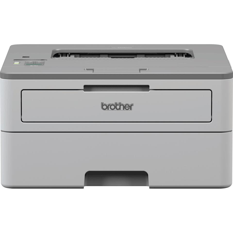 HL-B2080DW компактен монохромен лазерен принтер с жична и безжична мрежа от серия tonerbenefit