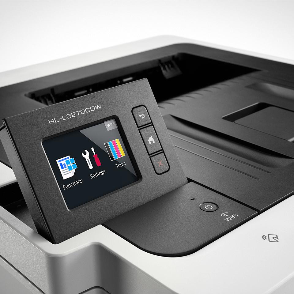 HL-L3270CDW цветен LED принтер с жична и безжична мрежа 4