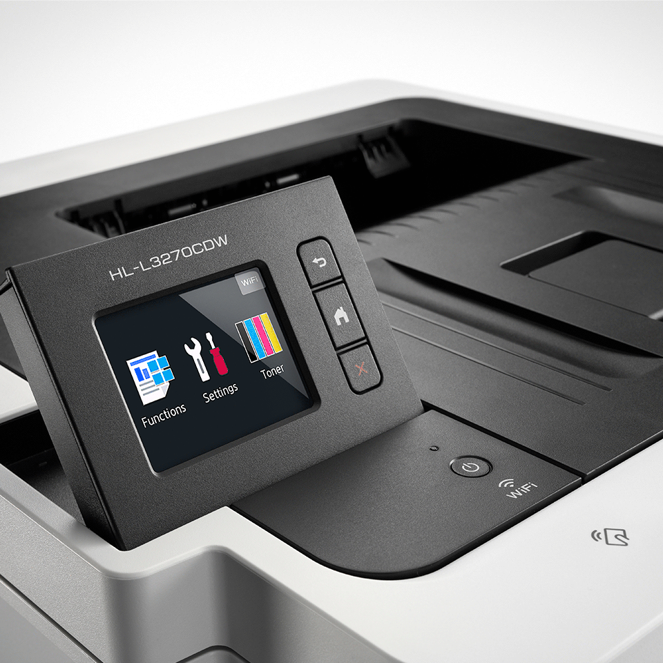 HL-L3270CDW цветен LED принтер с жична и безжична мрежа 3