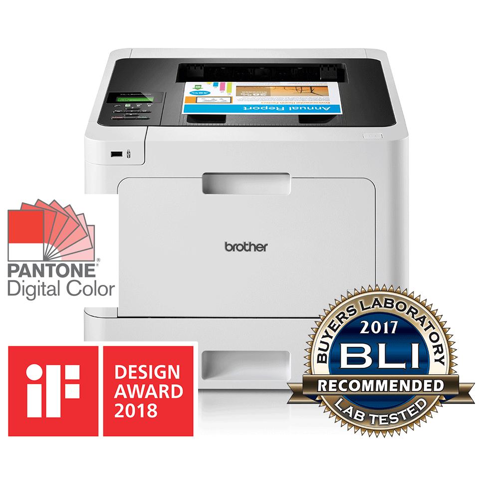 Brother HL-L8260CDW Цветен лазерен принтер с дуплекс и Wi-Fi