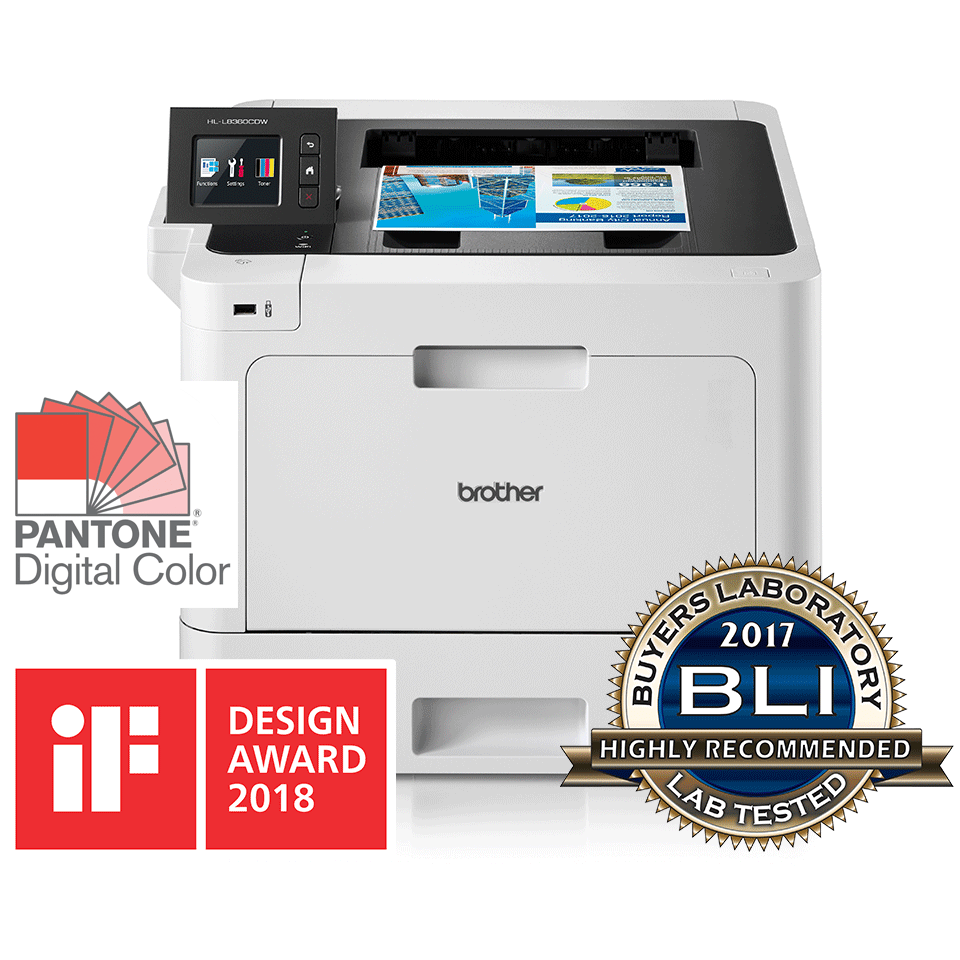 Brother HL-L8360CDW Цветен лазерен принтер с дуплекс и Wi-Fi