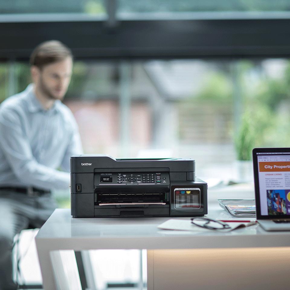 Brother MFC-T910DW InkBenefit Plus - мултифункционално устройство с печат, копиране, сканиране и факс 3