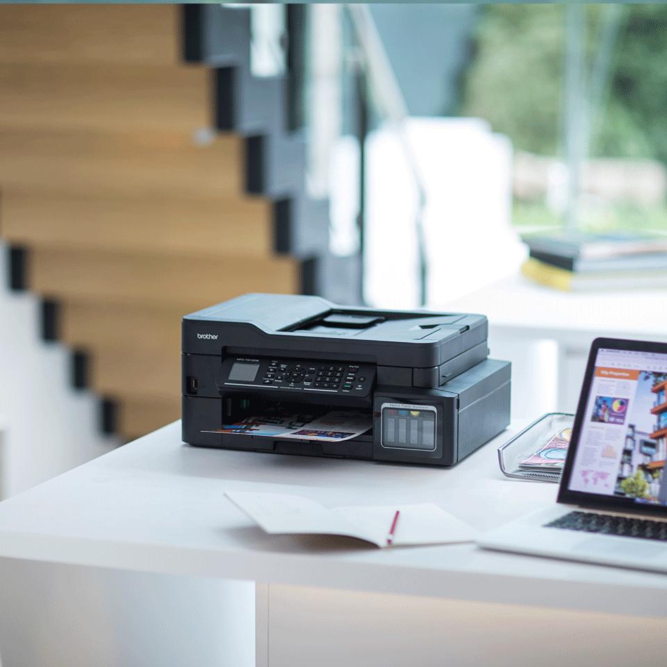 Brother MFC-T910DW InkBenefit Plus - мултифункционално устройство с печат, копиране, сканиране и факс 4