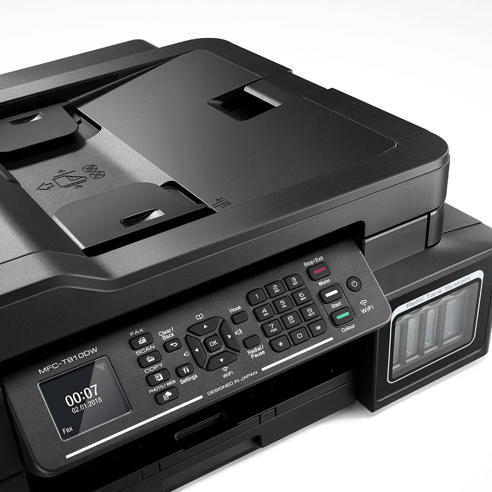 Brother MFC-T910DW InkBenefit Plus - мултифункционално устройство с печат, копиране, сканиране и факс 5