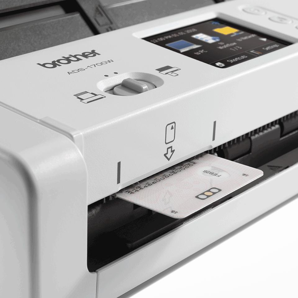 ADS-1700W - компактен безжичен документен скенер 7
