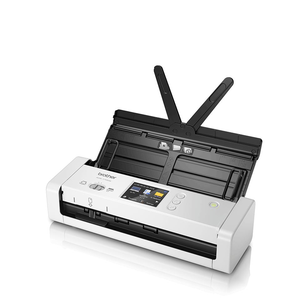 ADS-1700W - компактен безжичен документен скенер 2