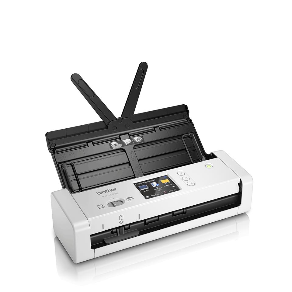ADS-1700W - компактен безжичен документен скенер 3