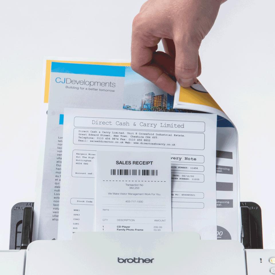 Brother ADS-2700W мрежов документен скенер 5