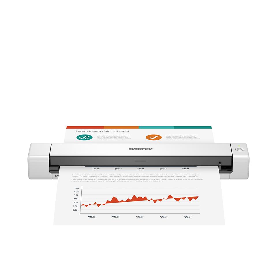 Brother DSmobile DS-640 - Преносим документен скенер