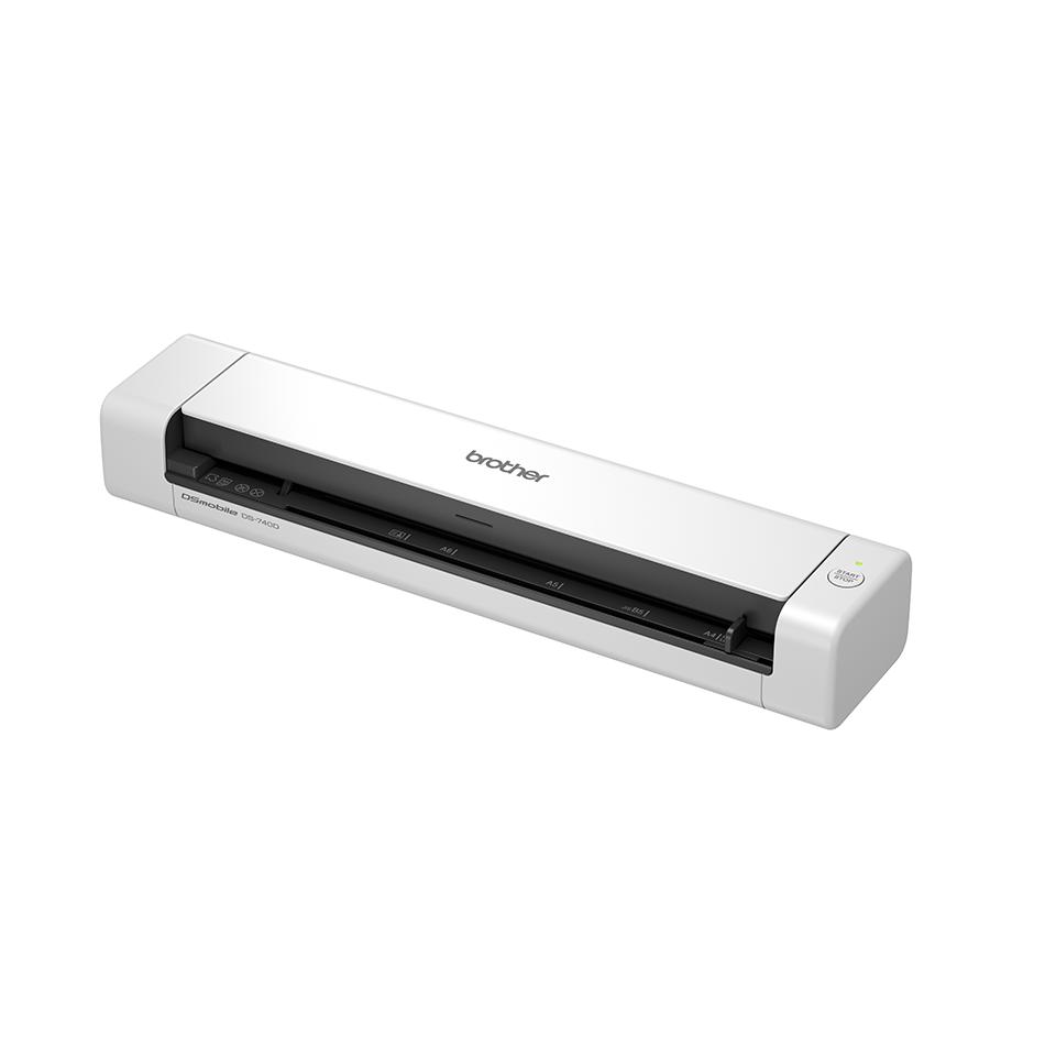 Brother DSmobile DS-740D - преносим документен скенер с двустранно сканиране. 2