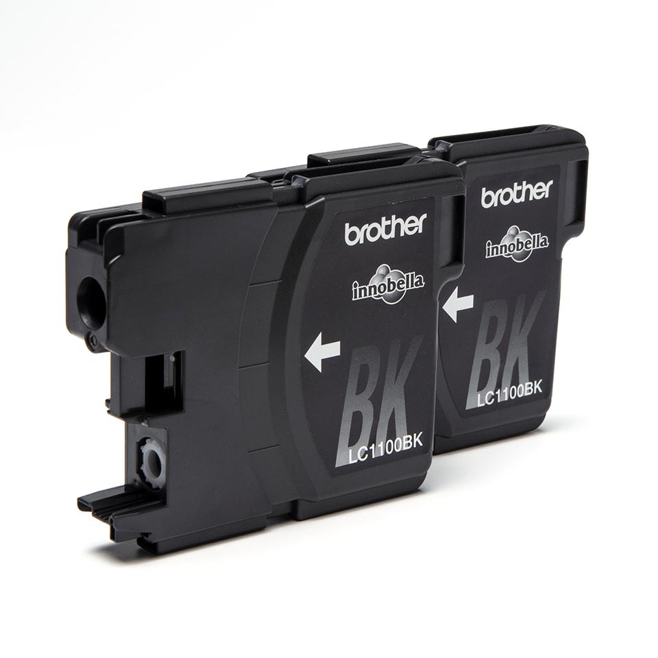 Оригинални мастилници Brother LC1100BKBP2, два броя в комплект – черни 2
