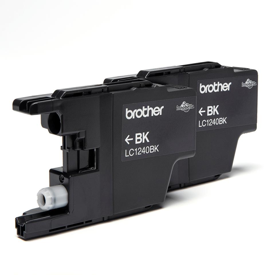 Оригинални мастилници Brother LC1240BKBP2 – черни, комплект от 2 броя 2