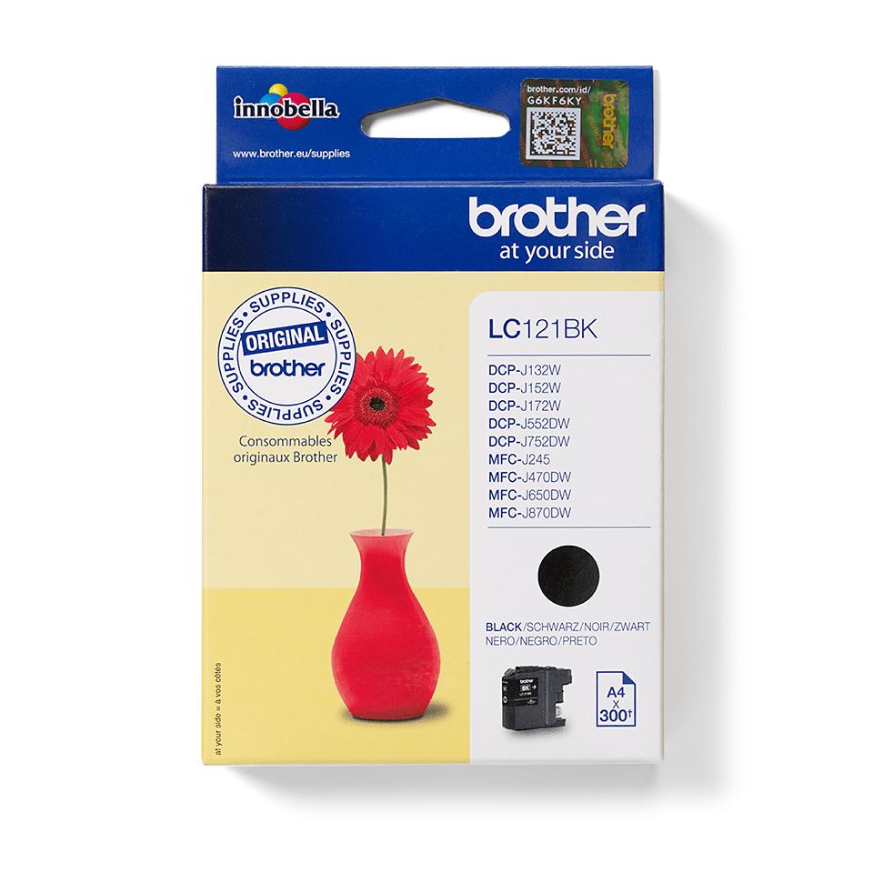 Brother LC121BK - касета с черно мастило
