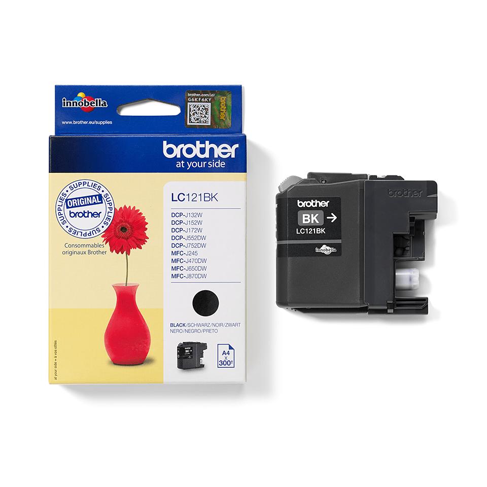 Brother LC121BK - касета с черно мастило 3