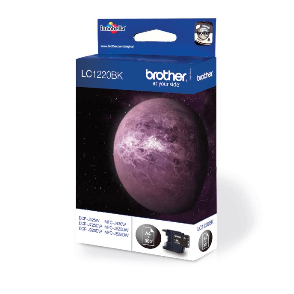 Оригинална мастилница Brother LC1220BK – черна 2