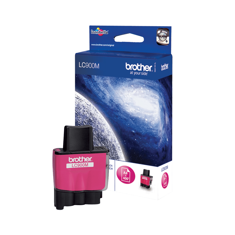Genuine Brother LC900M Ink Cartridge – Magenta