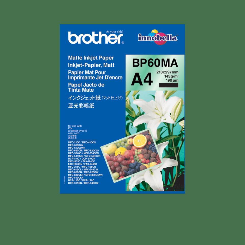Brother BP60MA - матова А4 хартия