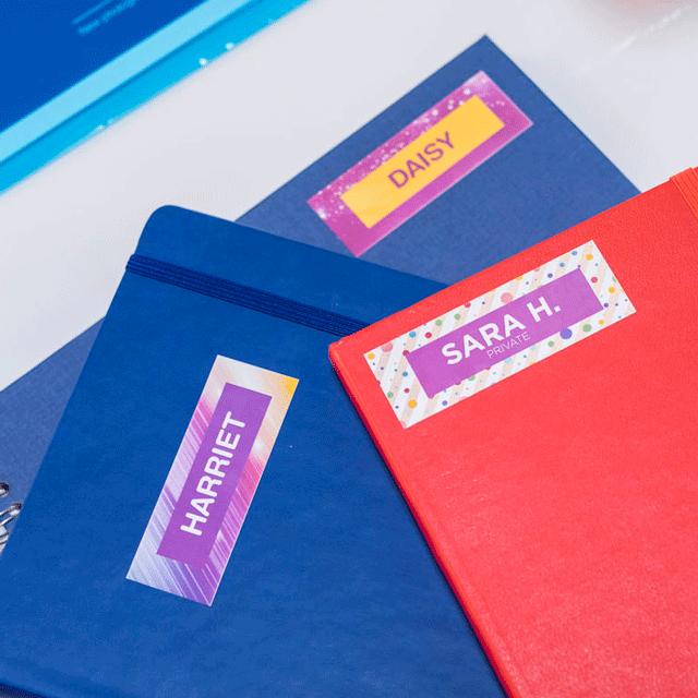 Brother CZ-1002 касета с лента за печат на пълноцветни етикети 15