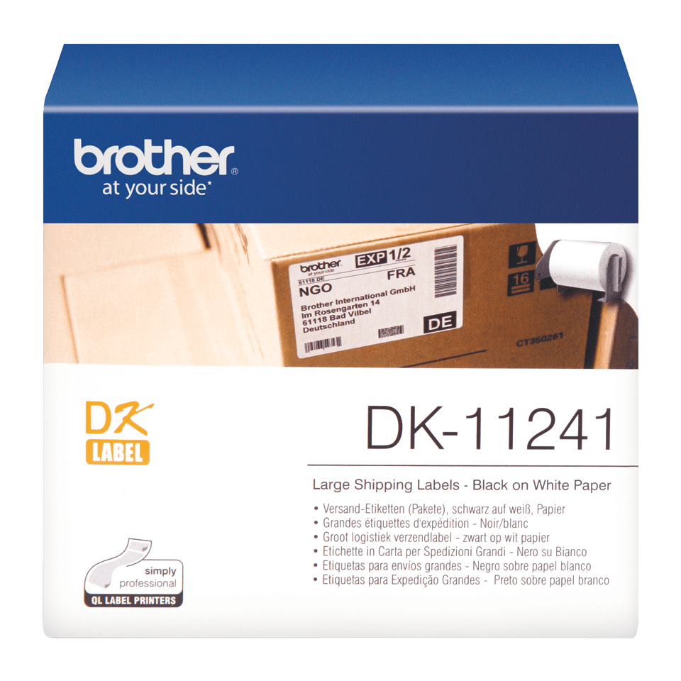 Brother DK-11241 лента с етикети