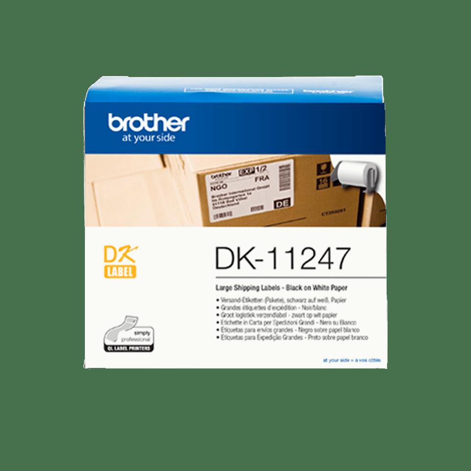 Brother DK-11247 - лента с етикети, 103mm x 164mm